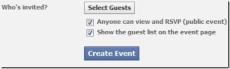 create a facebook event 2