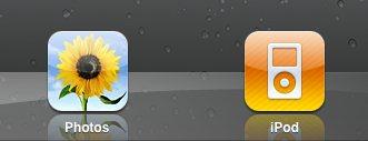 ipad screenshot photos icon