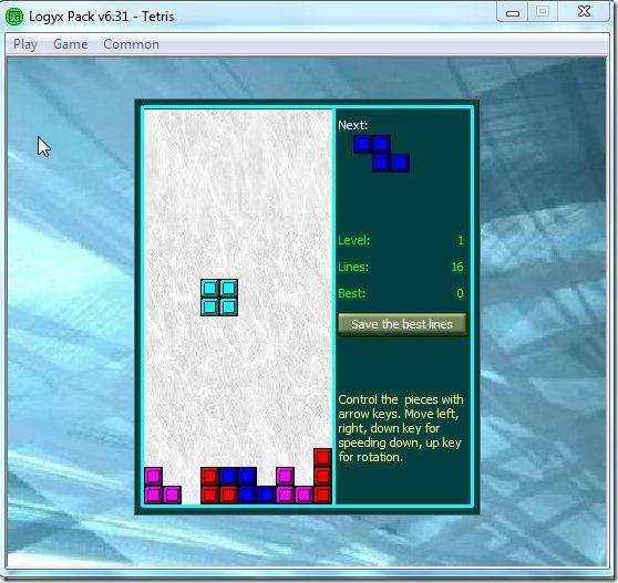 logyx tetris
