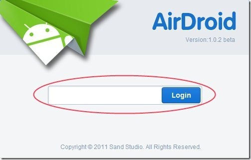 Airdroid Password