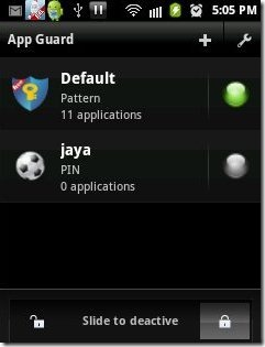 App Guard Profiles