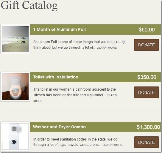 BellStrike Gift Catalog