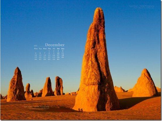 December2011 Calendar wallpaper002
