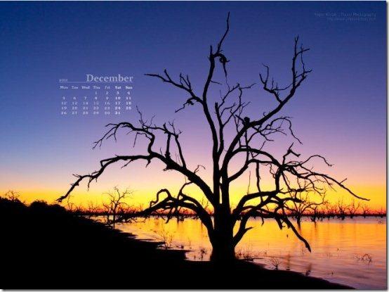 December2011 Calendar wallpaper004