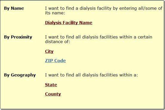 Dialysis facility compare001