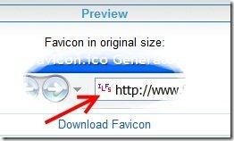 Favicon Preview