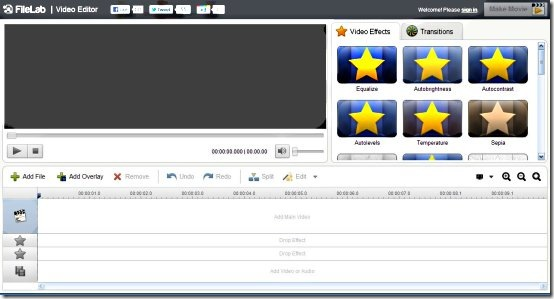 Filelab edit videos free web app