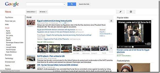 News Aggregators Google