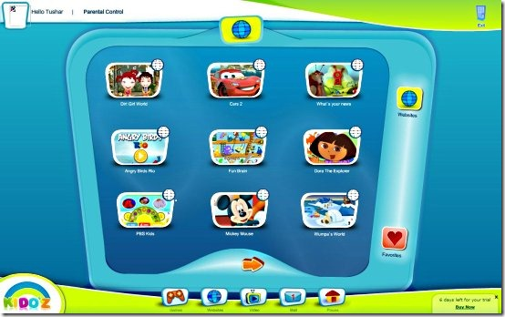 Kidoz-browsers for kids