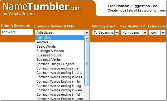 NameTumbler