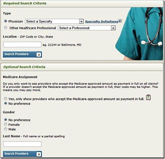 Physician compare001