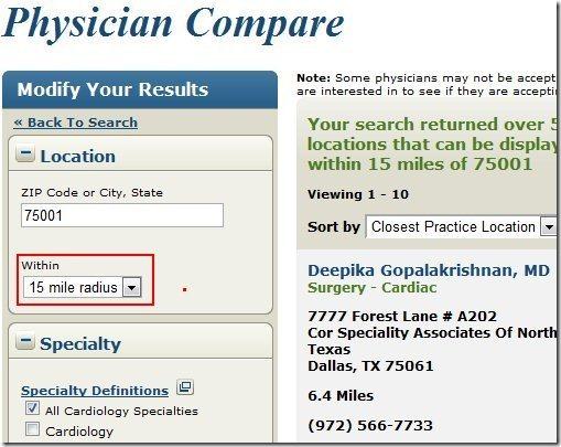 Physician compare003