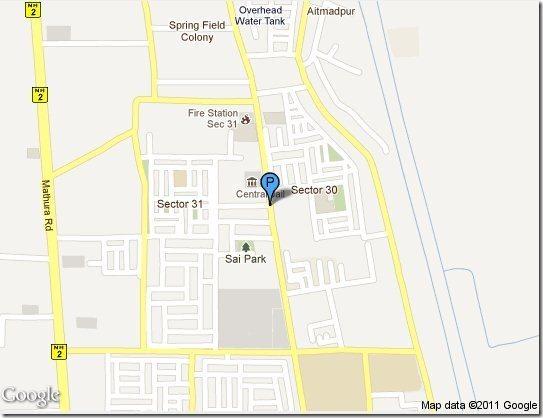 Prey Google Map