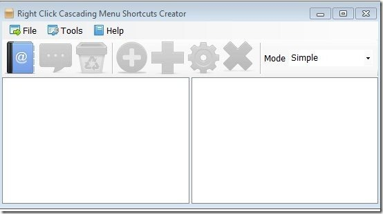 Right Click Cascading Menu Creator