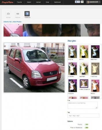 SimpleRetro Free Online Image Editor