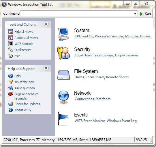 Windows Inspection tool set001