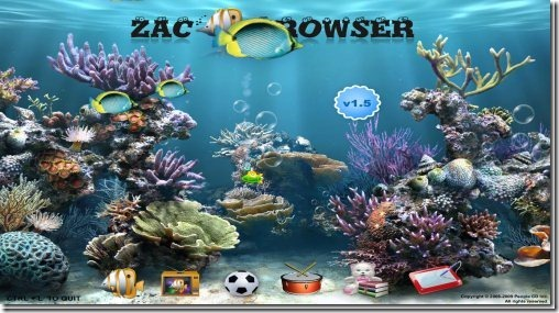 ZAC browsers for kids