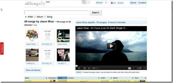 allsongsby001 listen to songs online