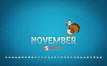 desktop wallpaper calendar November SM2
