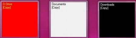 dropzone desktop folders