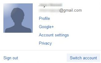 multiple Google Accounts gmail switch account