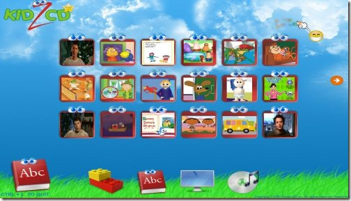 kidzcd browsers for kids
