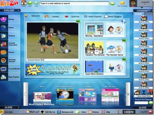 kidzui browsers for kids