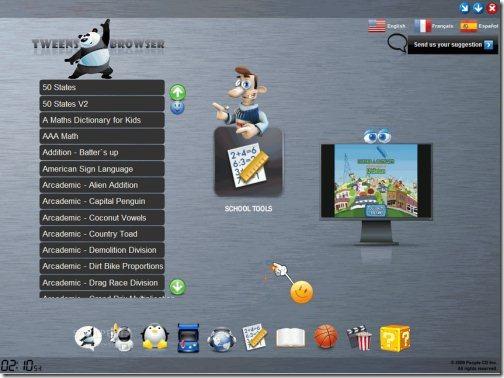 tweensbrowser browsers for kids
