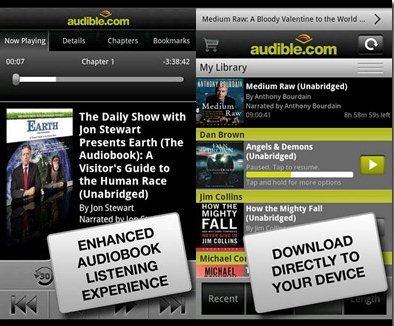 5 Free Android Audio Books Apps