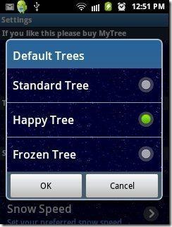 Christmas Live Wallpaper Trees