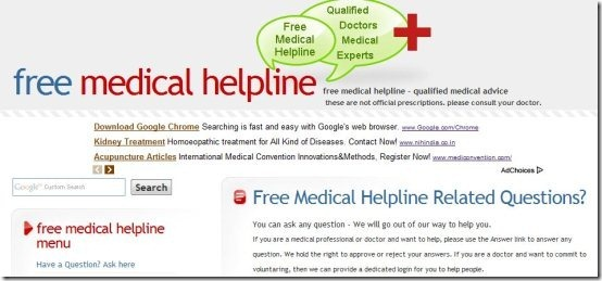 Free online medical advice 002
