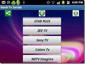 Hindi TV Serial Channel List