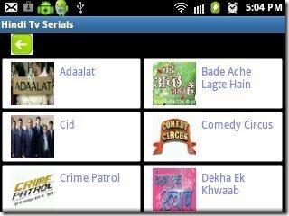 Hindi TV Serial Show list