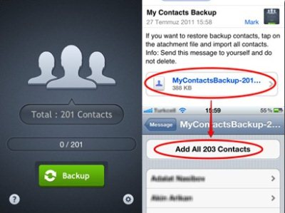 5 Free iPhone Contacts Backup Apps
