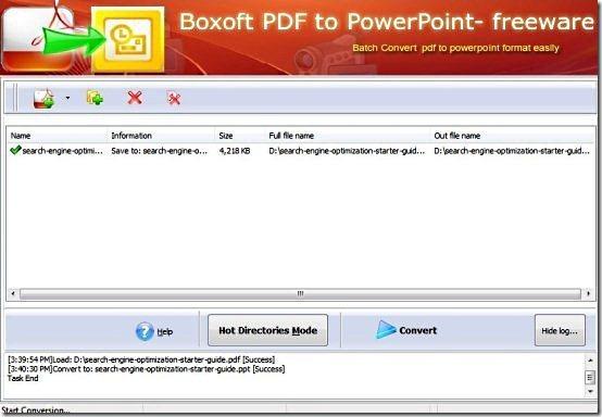 PDF to PPT converter001