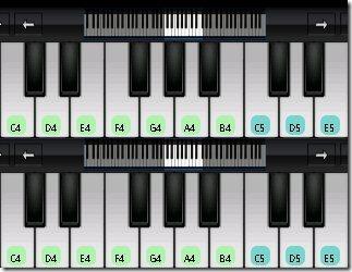 Perfect Piano Double Keyborad