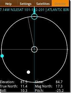 Satellite App Ball views