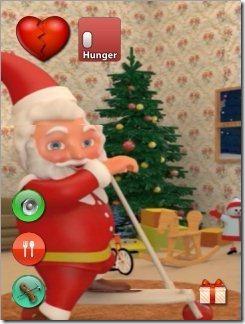 Talking Santa On Scooter