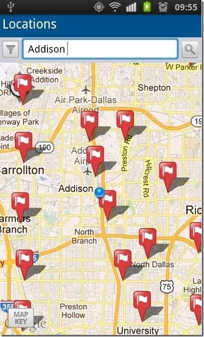 USPS Mobile Map