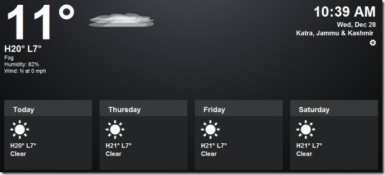 Weather Extensions For Chrome 001