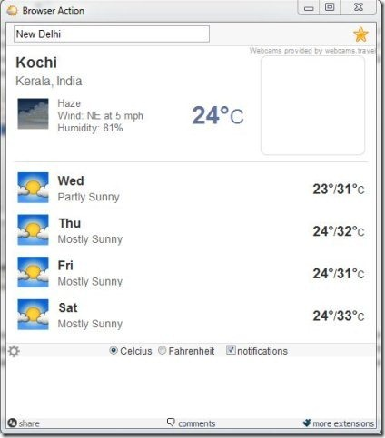 Weather Extensions For Chrome 003