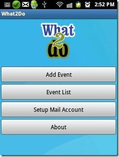 What2Do home page