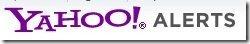 Yahoo Alerts Logo