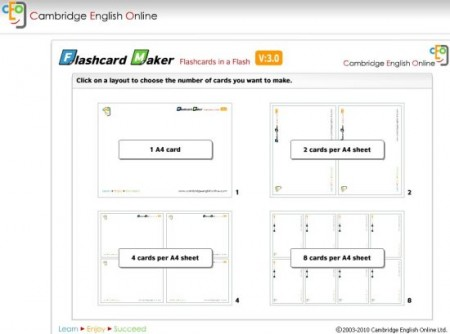 Flash Card Software flashcardmaker