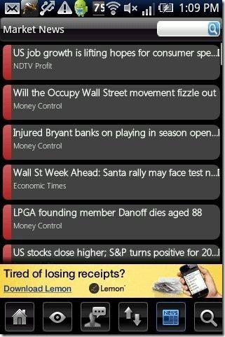 inStock market news