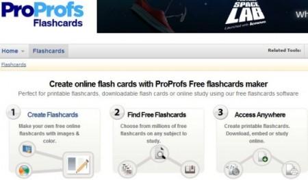 Flash Card Software proprofs