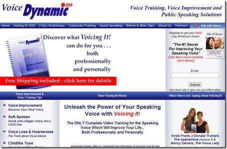 Improve Voice voicedynamic