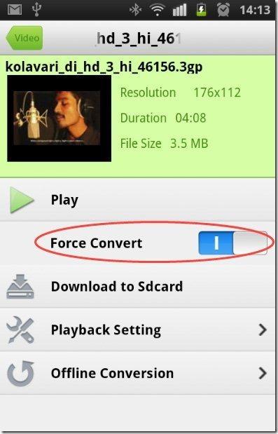 Air Playit Force Convert