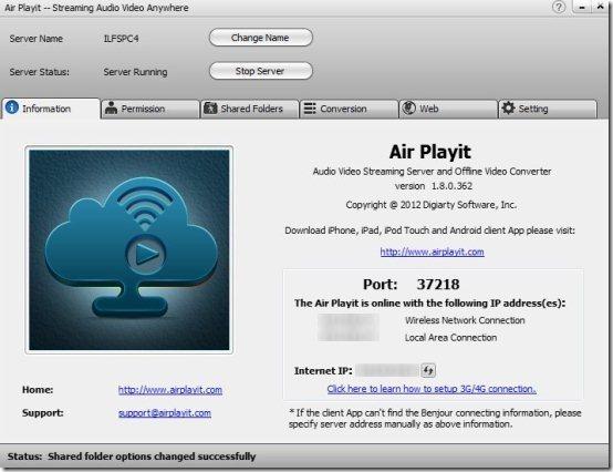 Air Playit Windows
