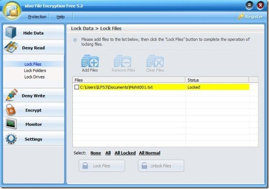 Free File Encryption Software: iDoo File Encryption Free